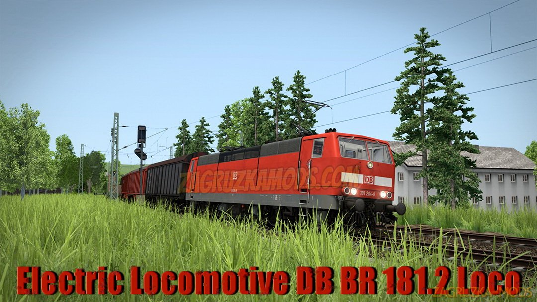 Electric Locomotive DB BR 181.2 Loco v1.0 for TS 2019