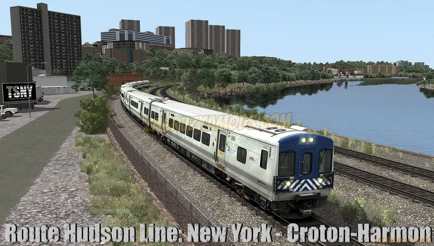 Route Hudson Line: New York - Croton-Harmon v1.0 for TS 2019