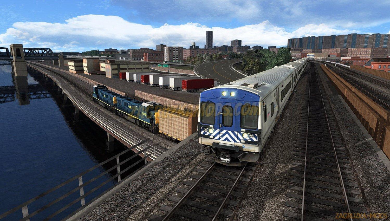 Route Hudson Line: New York - Croton-Harmon v1.0 for TS 2019