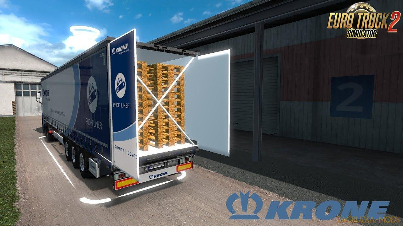 Krone Megaliner With Swing Door v1.0