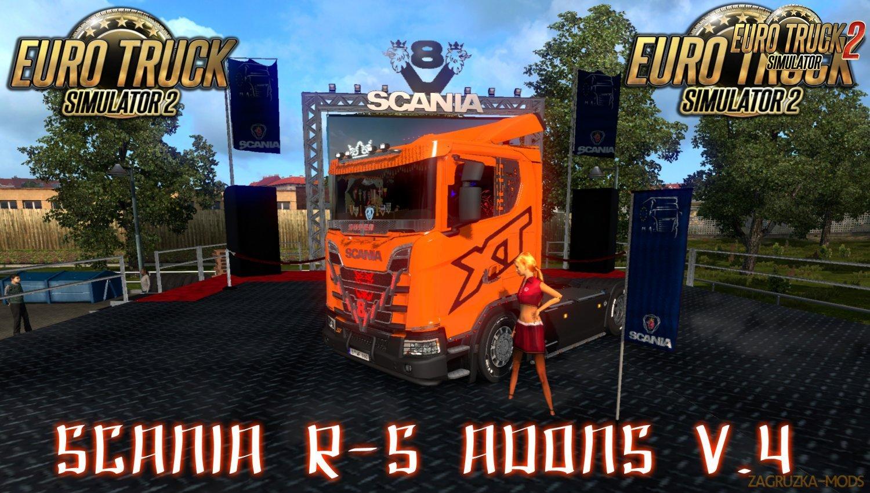 Scania R & S Addons v4.0 [1.34.x]
