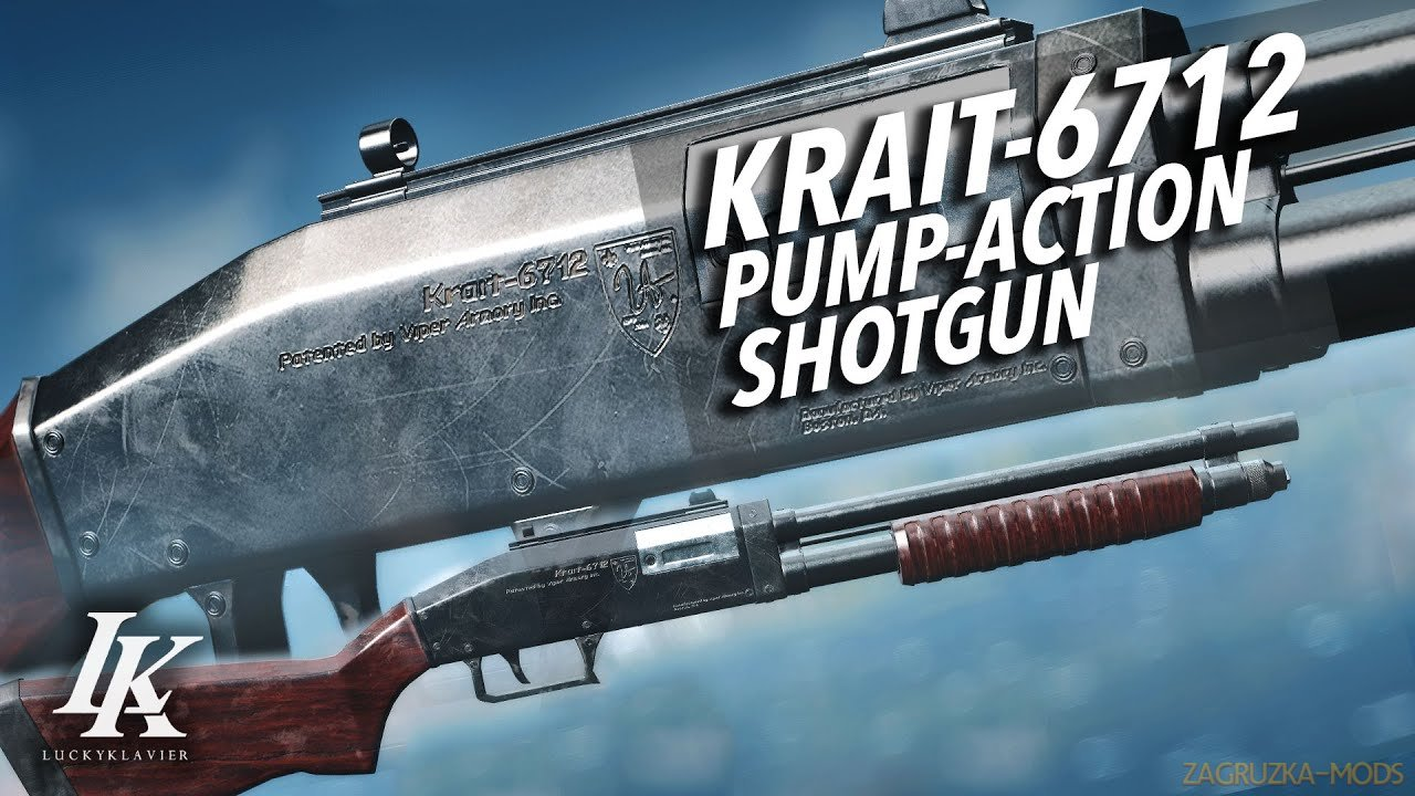 Viper Armory Inc. Krait-6712 Pump-Action Shotgun v1.0.2 for Fallout 4
