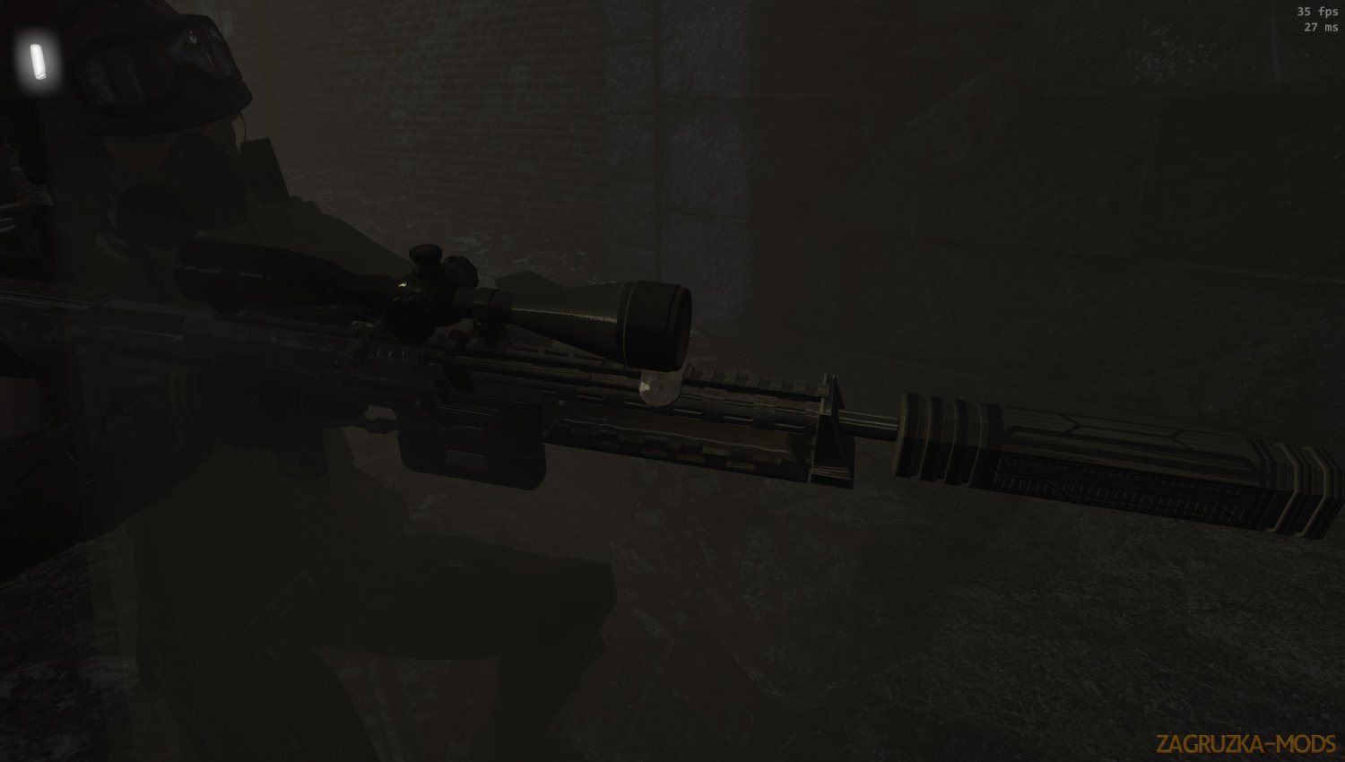 DSR 50 High Power Sniper Rifle v1.4 for Fallout 4