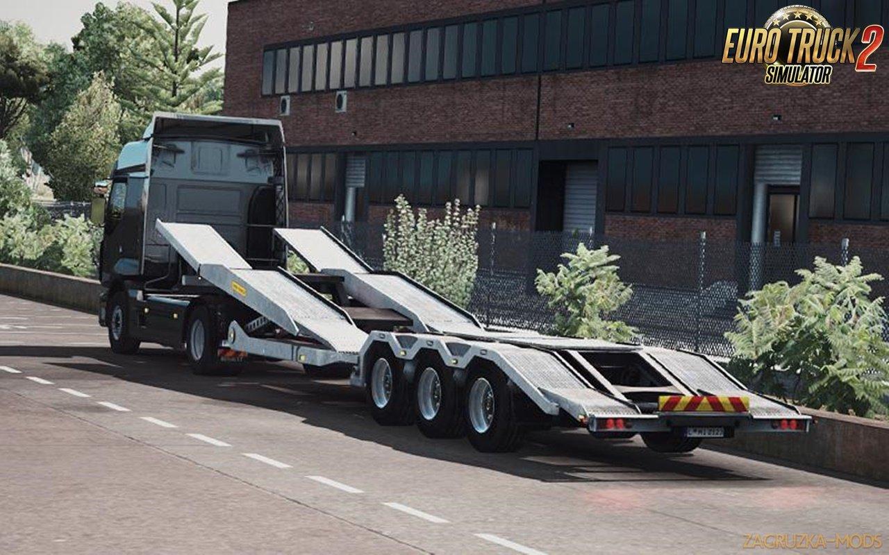 Ownership Truck Transport Trailer v3.0 for Ets2