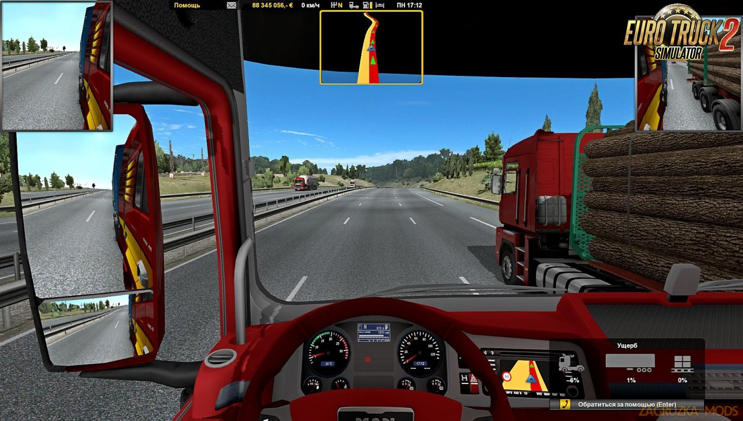 Route Advisor for Ats and Ets2
