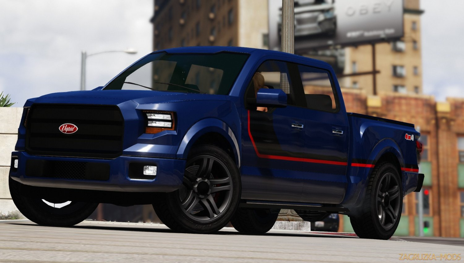 Vapid Caracara 4x4 v2.2 for GTA 5