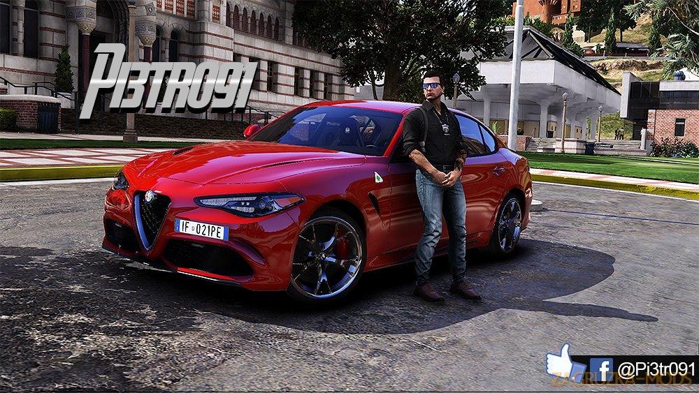 Alfa Romeo Giulia - Civetta v1.0 for GTA 5