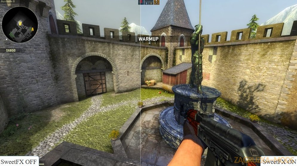 Beautiful Graphics Mod v1.0 for CSGO