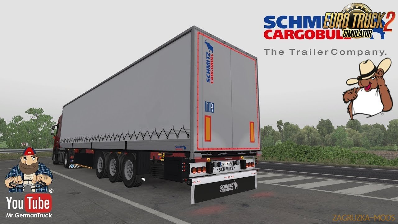 Schmitz Trailer Pack for Ets2