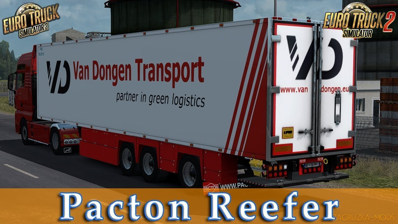 Pacton Reefer Trailer v1.0