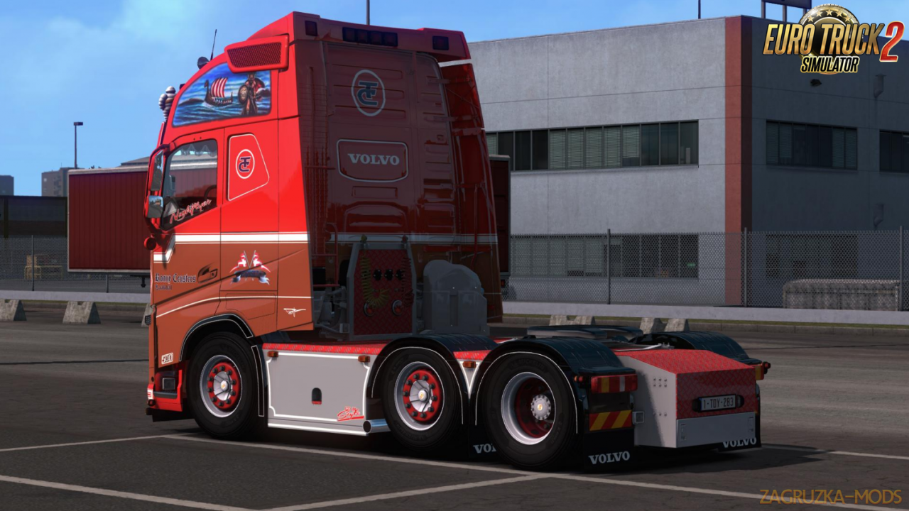 Ronny Ceusters Volvo FH16 540 v1.1 (1.37.x) for ETS2