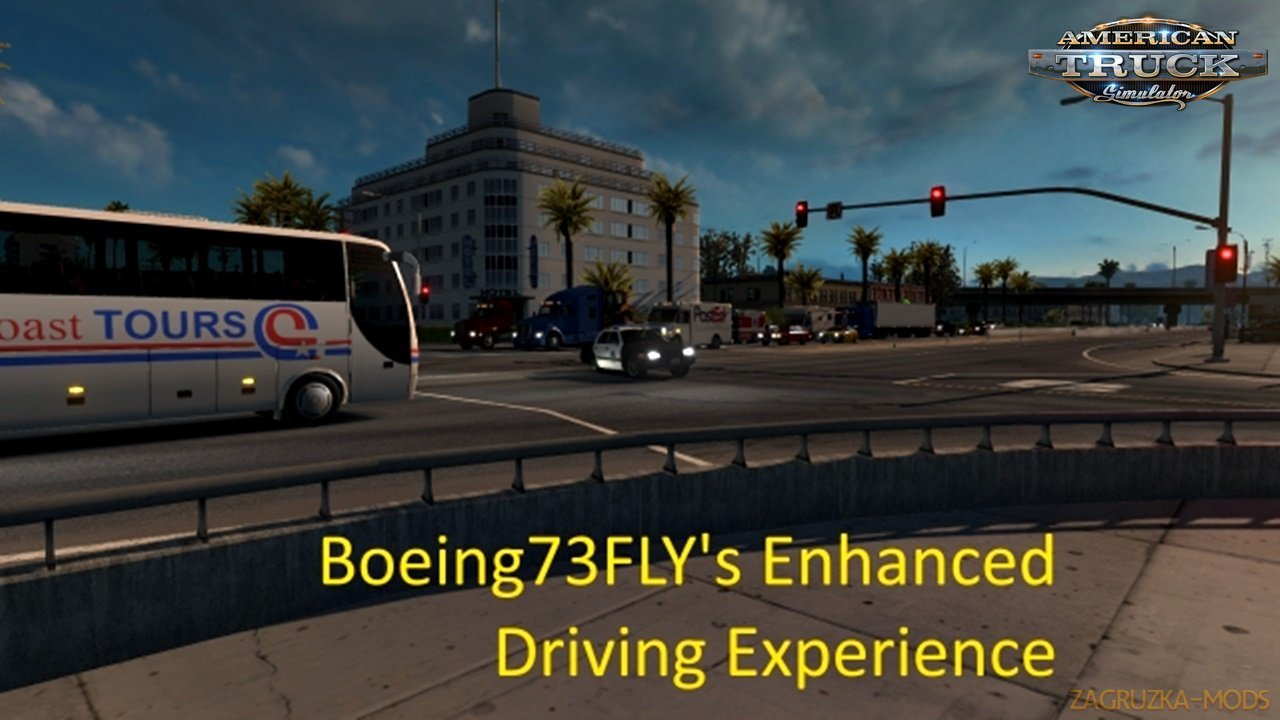 Enhanced Driving Experience (EDXP) v1.12 by Boeing73FLY (1.34.x) for ATS