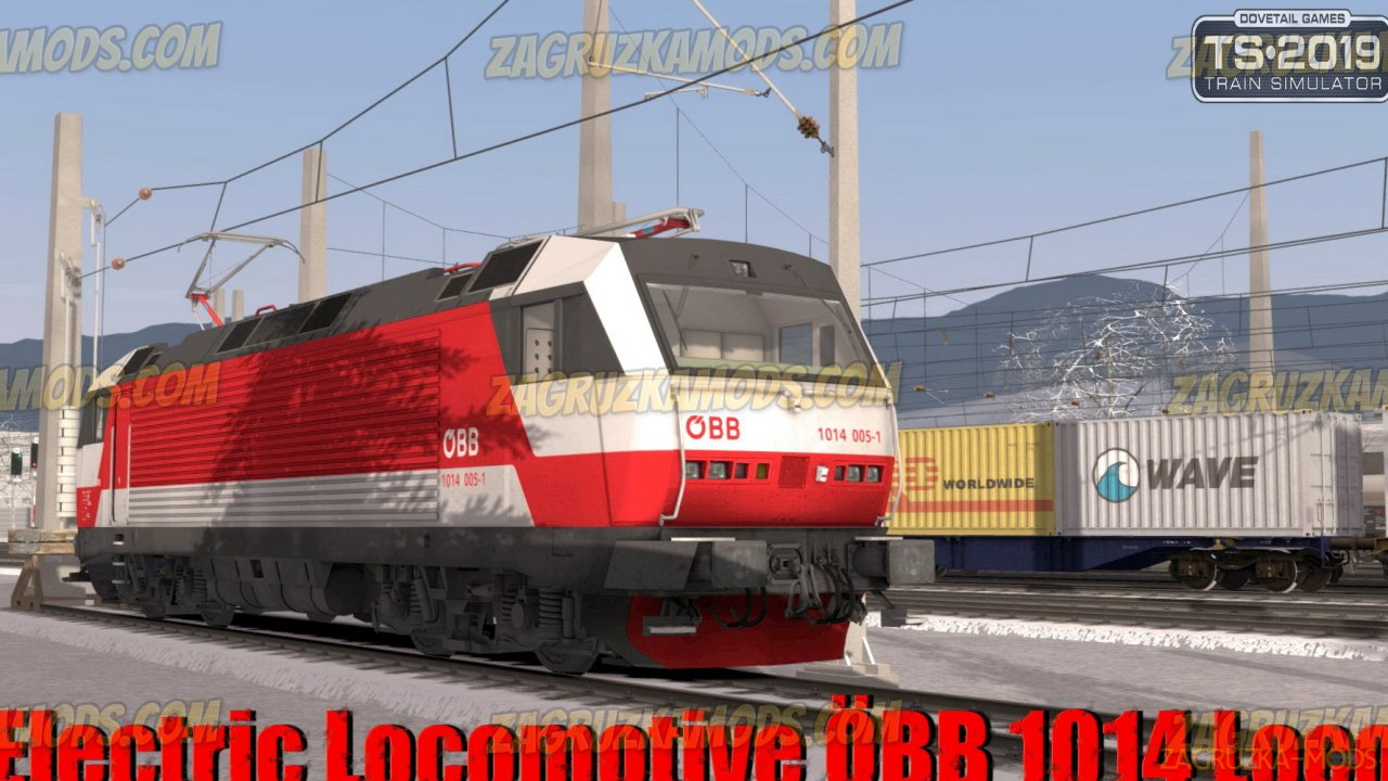 Electric Locomotive ÖBB 1014 Loco v1.0 for TS 2019