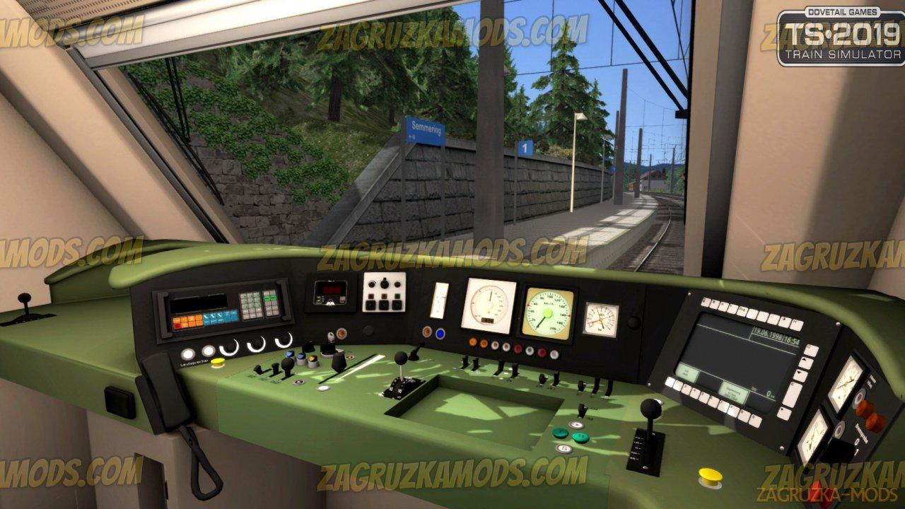 Electric Locomotive ÖBB 1014 Loco v1.0 for TS 2019