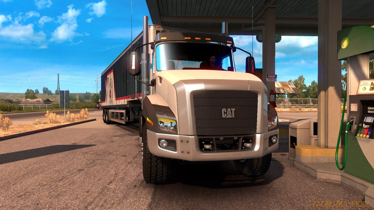 CAT CT660 + Interior v2.3 by RTA Team (1.34.x) for ATS
