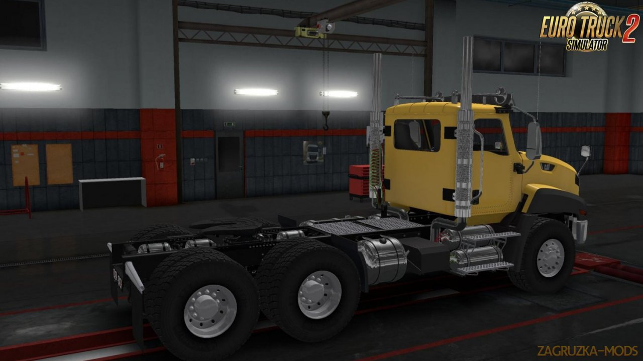 Caterpillar CT 660 v2.1 for Ets2