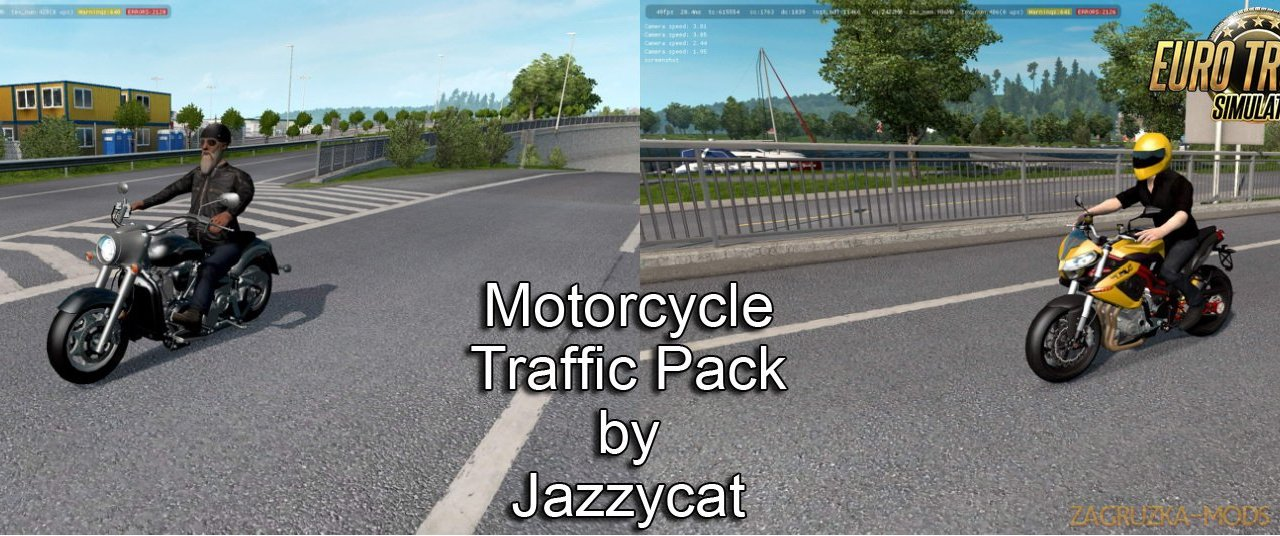 Motorcycle Traffic Pack v2.7 by Jazzycat