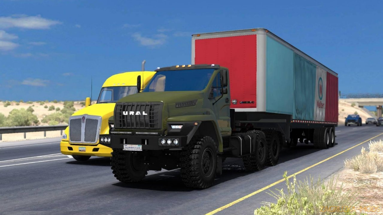 Ural Next 6x6 + Interior v1.2 (1.34.x) for ATS