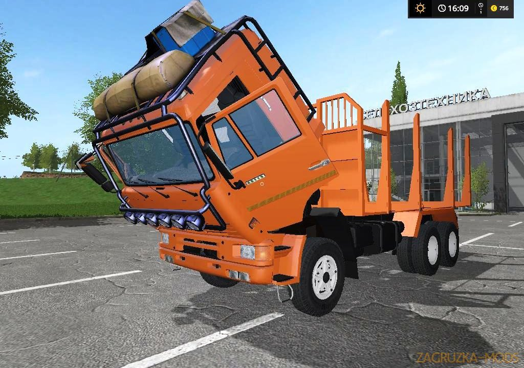 KamAZ 43118-44108 Timber Edition v2.1 for FS 17