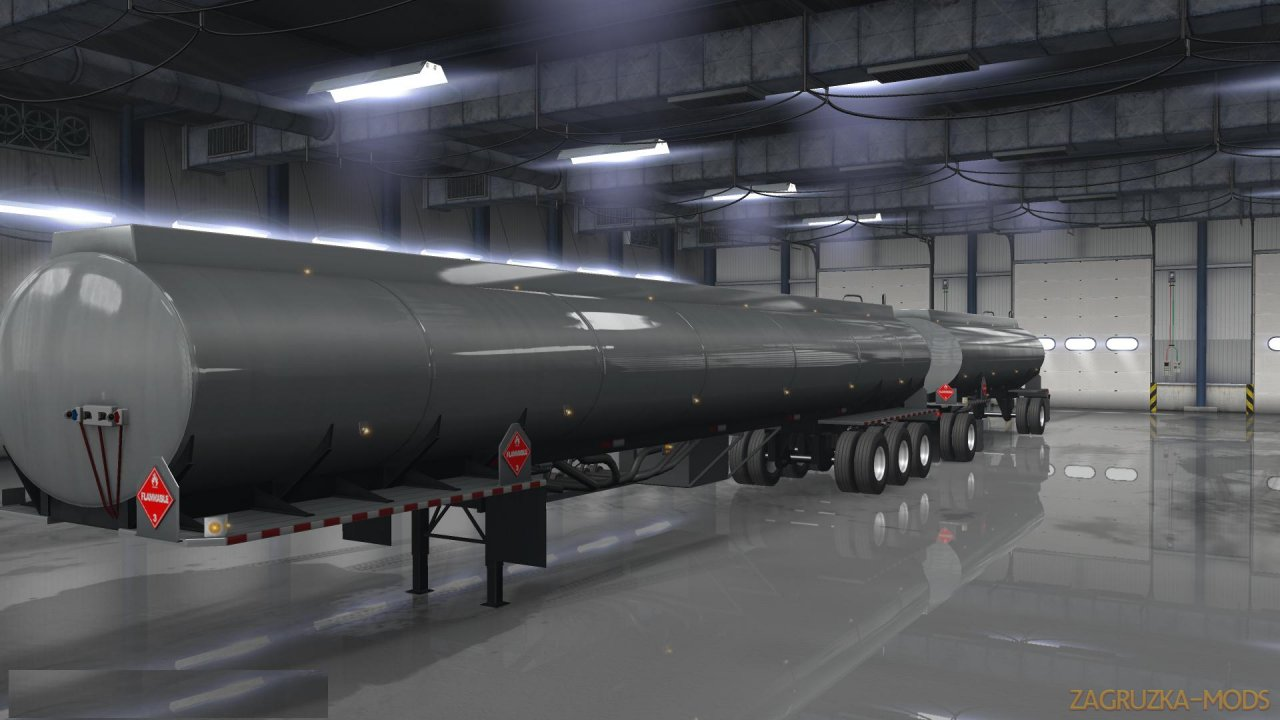 Ownable Fuel Tanker Trailers v1.0 (1.34.x) for ATS