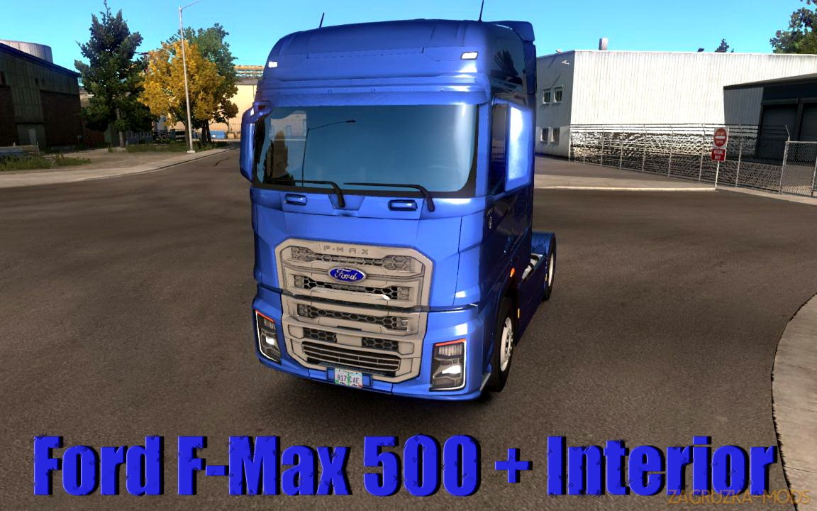 Ford F-Max 500 + Interior v2.0 (1.34.x) for ATS