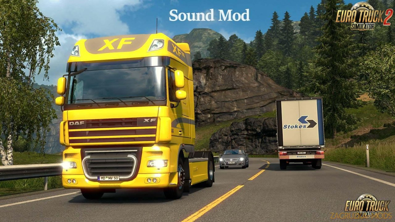 DAF XF Paccar MX sound mod by Leen [1.34.x]