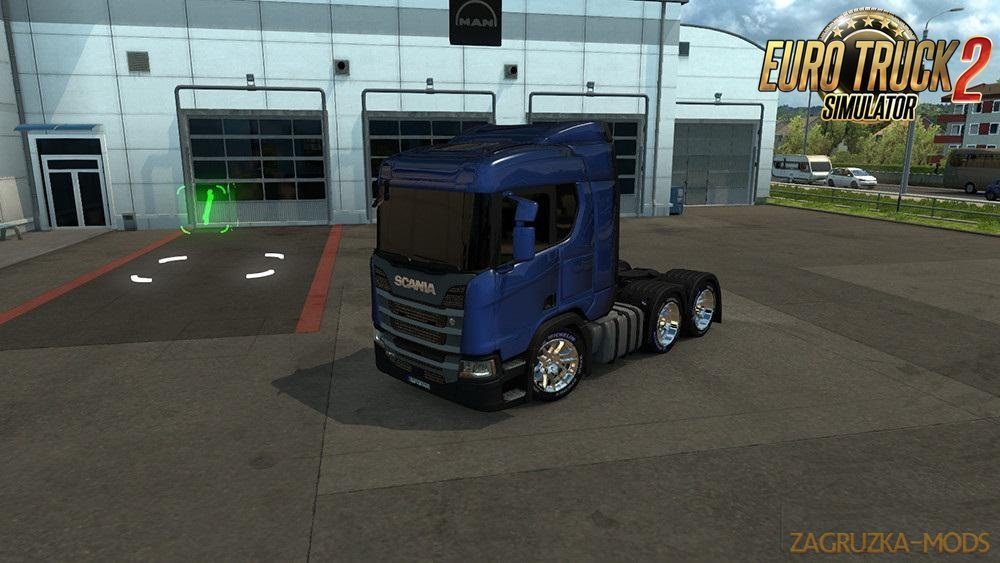 Black Glass for Scania 2009 and 2016