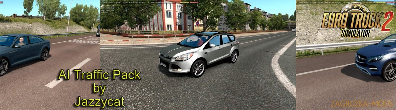 AI Traffic Pack v9.9 by Jazzycat