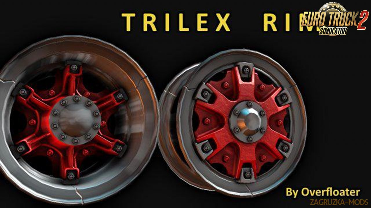 Trilex style rims for Ets2