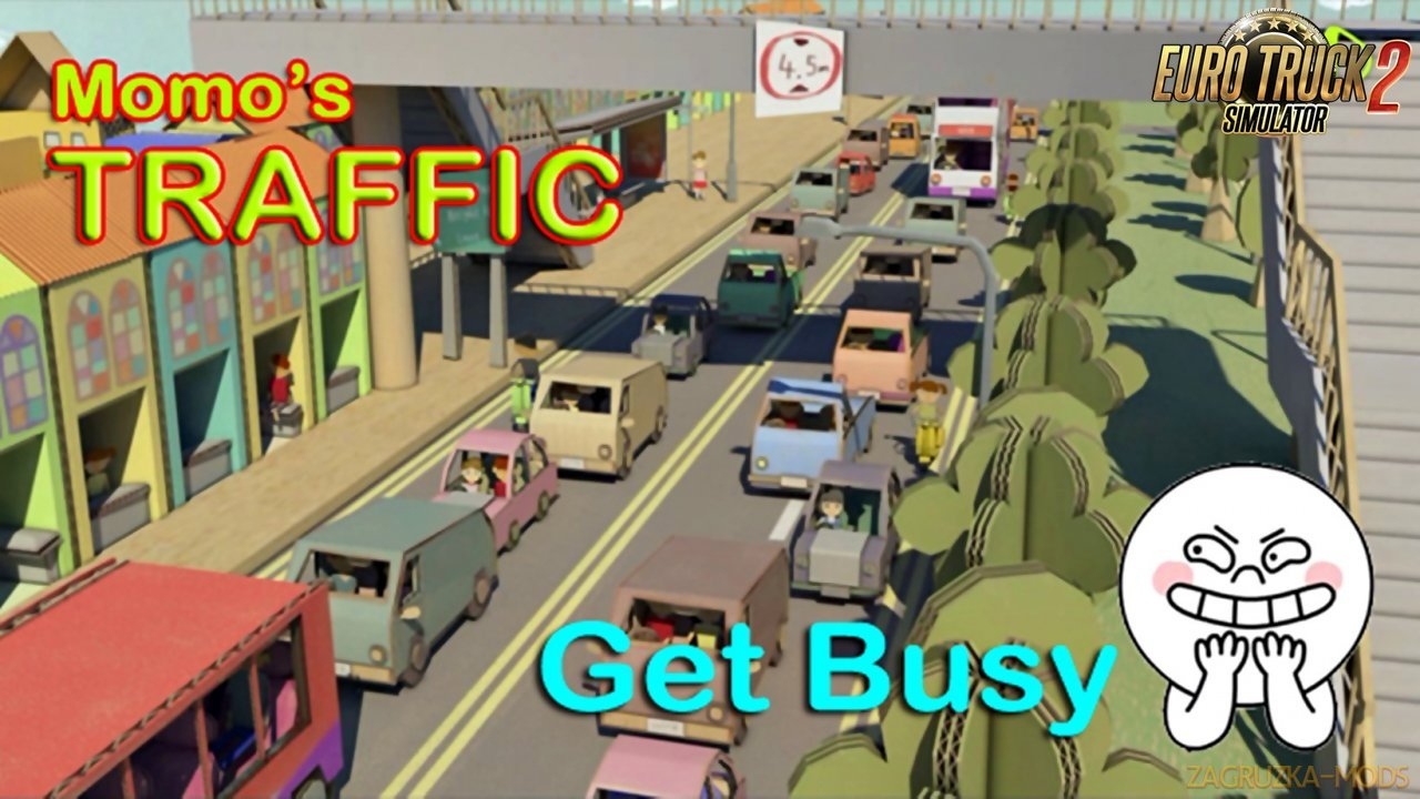 Momo's Traffic – Get Busy 1.0
