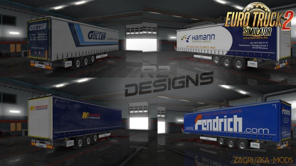 Skin Pack for Krone Trailer by R2 Design's