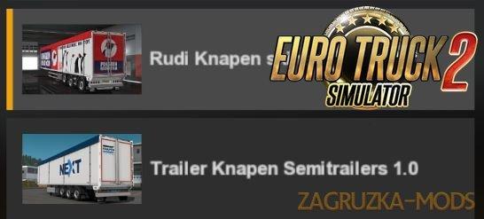 Rudis Knapen Skins v1.0 for Ets2