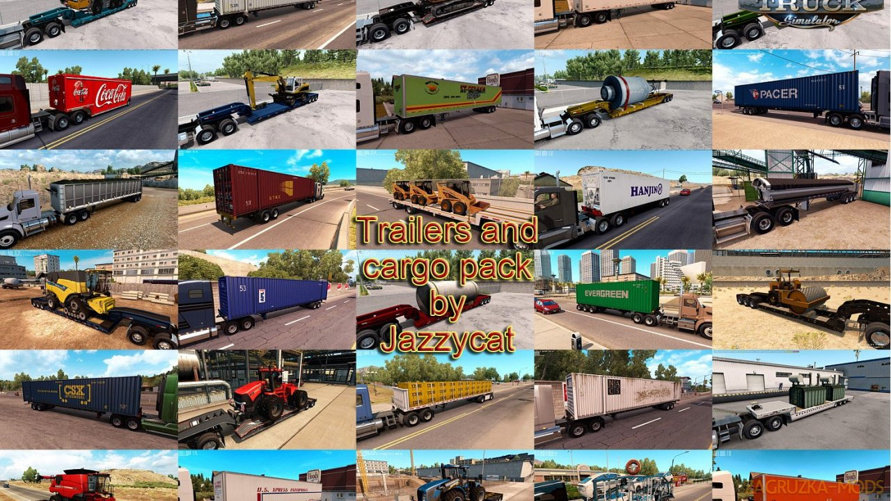 Trailers and Cargo Pack v2.3 by Jazzycat