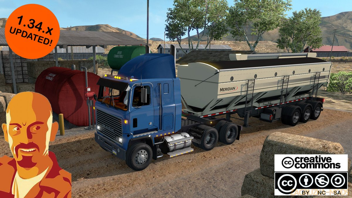 Mack Ultraliner + Interior v1.0 by CyrusTheVirus (1.34.x) for ATS