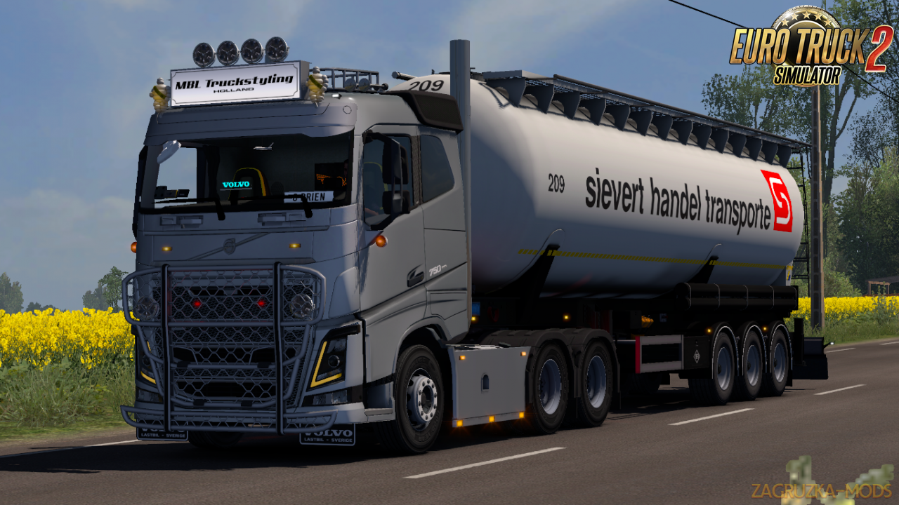 MBL Volvo Addon Pack v1.2 for Ets2