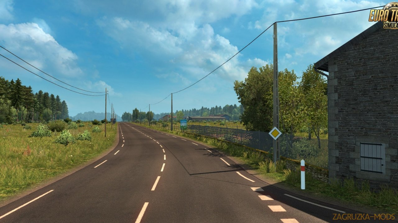 Tregion Map v0.1.2 for Ets2