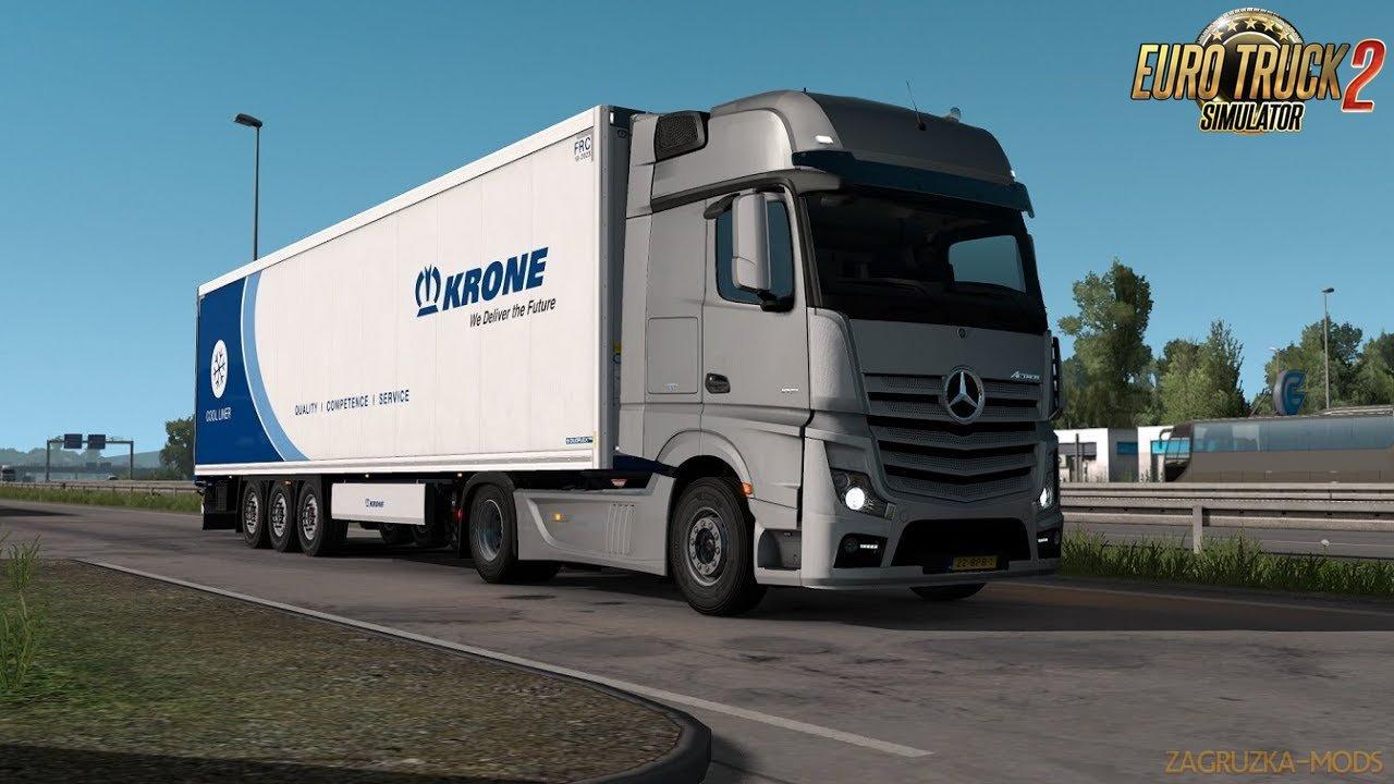 Mercedes Actros MP4 OM471 engine sound