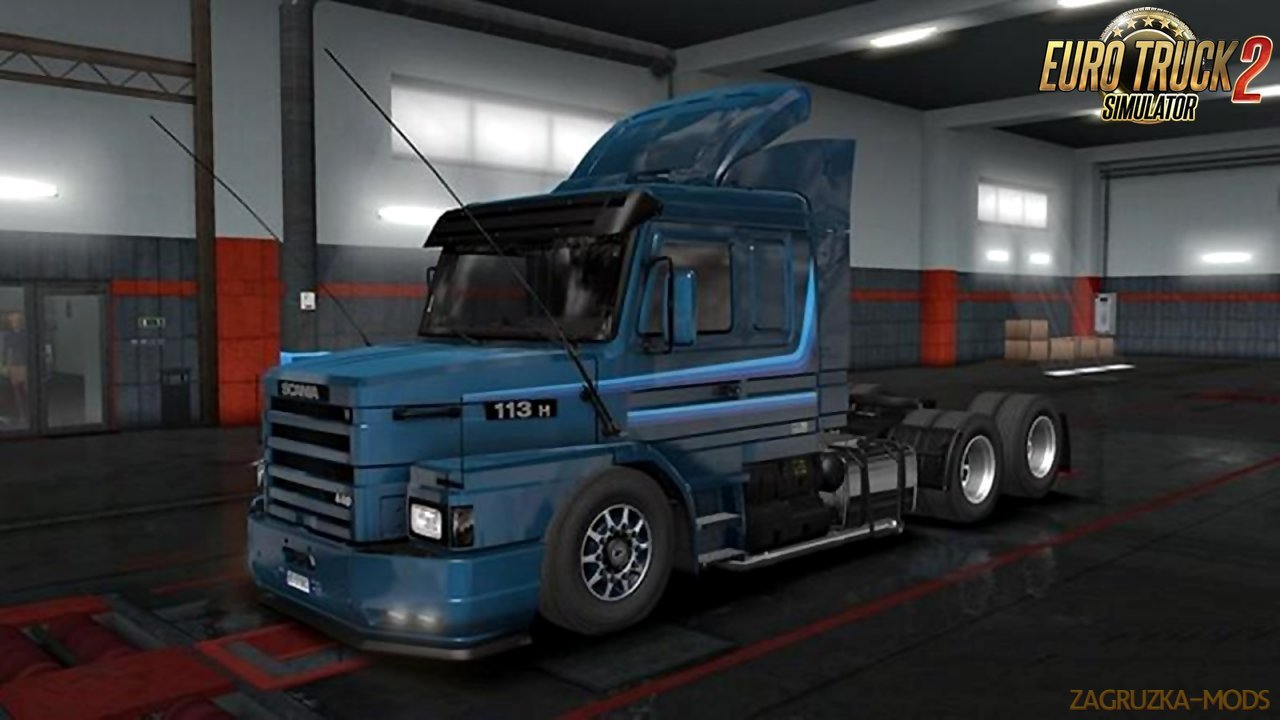 Scania 113H v2.8 for Ets2