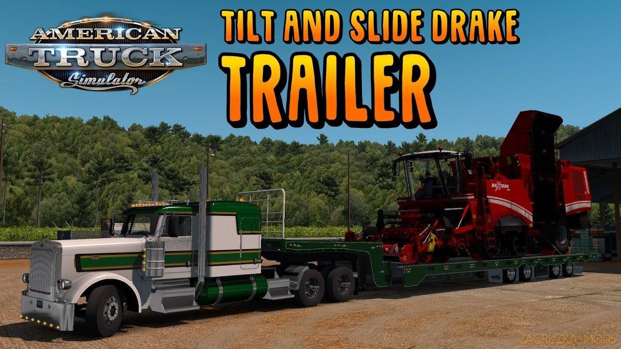 Tilt and Slide Drake Trailer v1.0 (1.34.x) for ATS