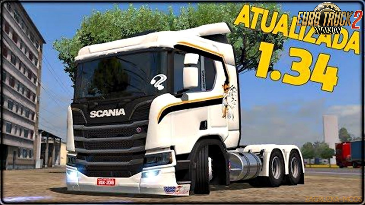 New Scania + Wheel Pack + Skin Pack v2.0 for ETS2