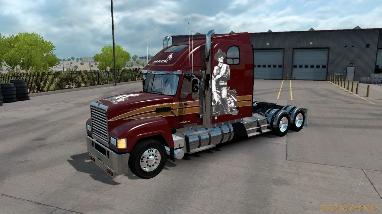 Mack CHU613 Rawhide + Interior v1.0 (1.34.x) for ATS