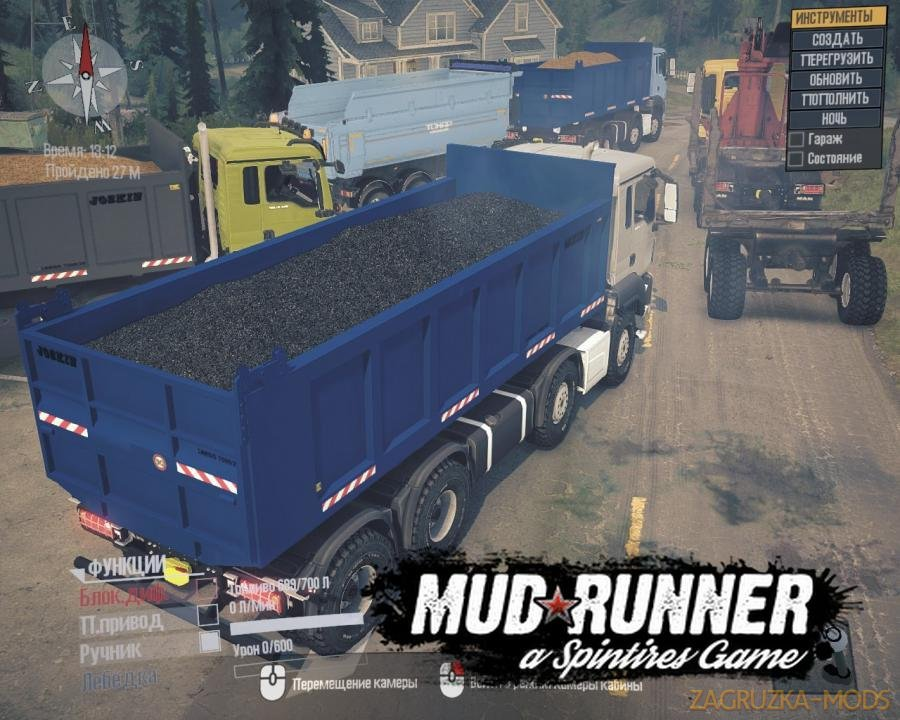 Man TGS 18.480 v1.0 for SpinTires: MudRunner