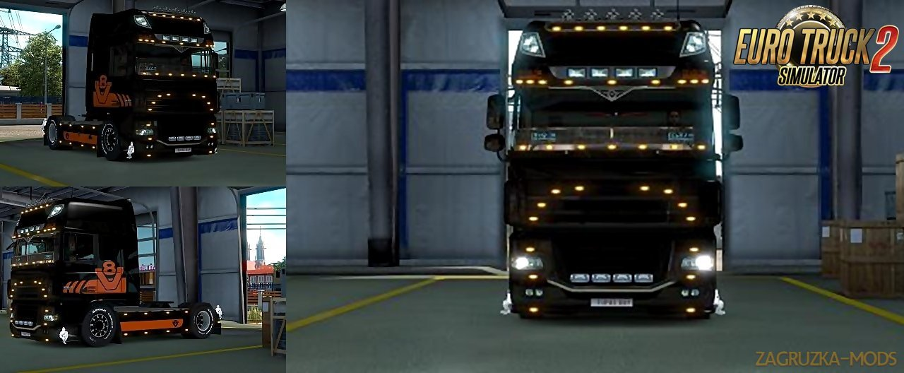 DAF V8 SP/Multiplayer by Tupac-Boy
