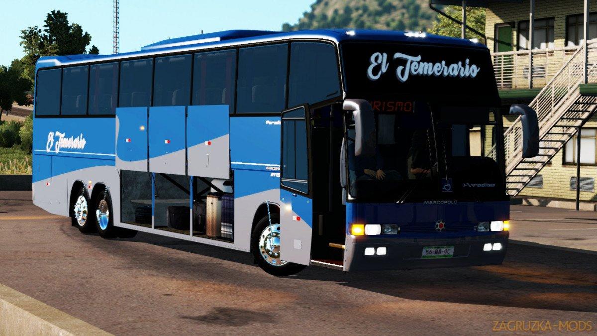 Bus Marcopolo Paradiso GV 1150 + Interior v1.0 (1.34.x) for ATS