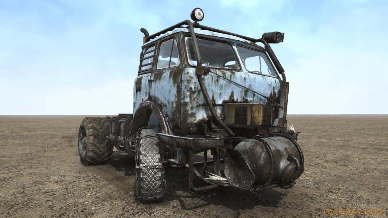 MAZ 53 METRO EXODUS Truck v1.0 for SpinTires: MudRunner