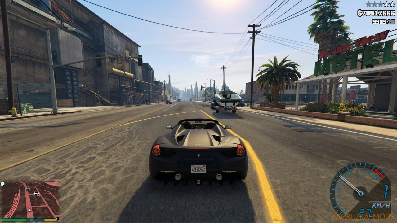 Custom Camera V Plus v1.6 for GTA 5