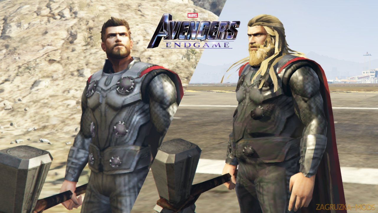 Thor Mod (Avengers Endgame) v1.2 for GTA 5
