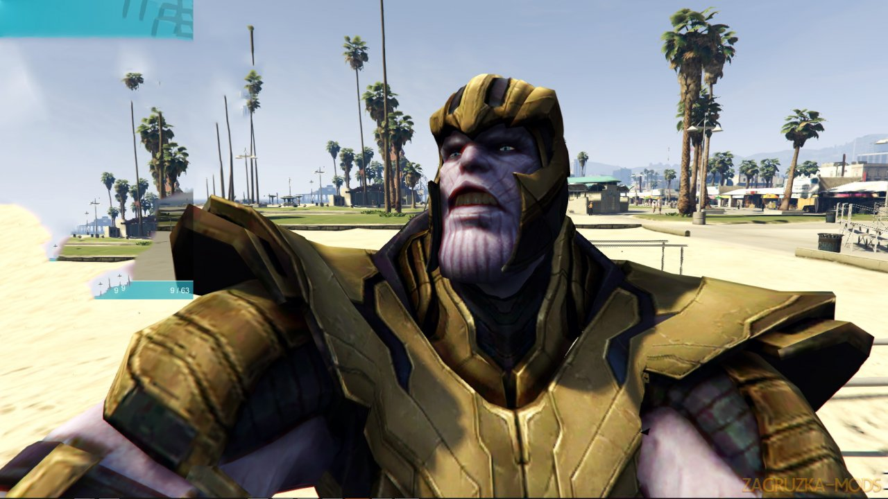 Thanos Mod (Avengers Endgame) v2.0 for GTA 5