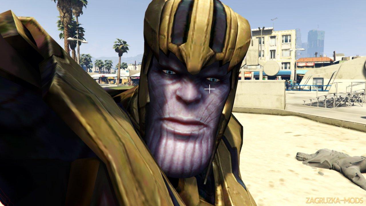 Thanos Mod (Avengers Endgame) v2.0 for GTA 5