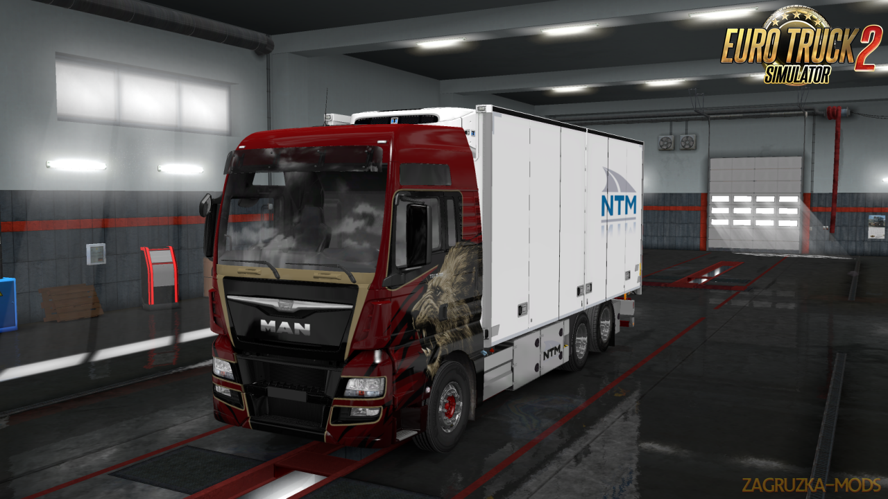 Rigid Chassis for all SCS Trucks v1.0 in Ets2